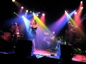 live @ the Double Door - photo by Nikki Way